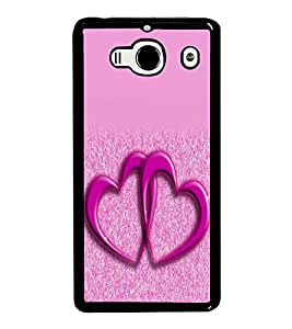 printtech Heart Couple Back Case Cover for Xiaomi Redmi 2S::Xiaomi Redmi 2::Xiaomi Redmi 2 Prime