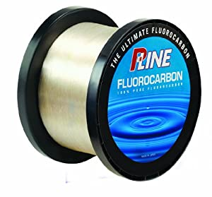 P-Line Soft Fluorocarbon Bulk Spool (2000-Yard, 12-Pound) by P-Line