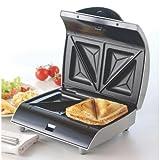 Kenwood SM435 2-Slice Sandwich Toaster, 700 W (Silver)