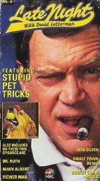 Late Night with David Letterman: Stupid Pet Tricks [VHS]