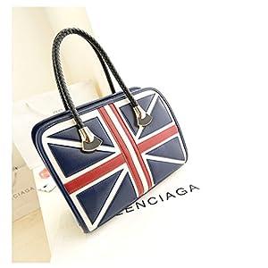 New Womens Wholesale British Flag Single Shoulder Bag Handbag