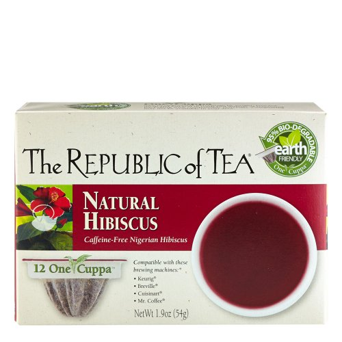 The Republic Of Tea Natural Hibiscus Tea Single