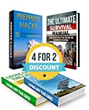 img - for Survival Box Set: 35 Skills & 15 Prepper's Hacks to Surviving Volcanic Eruption and Creating Your Sources of Water & Electrical Power (Living Off the Grid, preppers survival guide, preppers pantry) book / textbook / text book