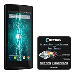 Chevron Scratch Resistant Screen Protector for Lava Fuel 60