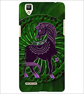 PrintDhaba Cartoon D-4107 Back Case Cover for OPPO F1 (Multi-Coloured)