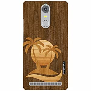 Design Worlds Lenovo K5 note Back Cover Designer Case and Covers