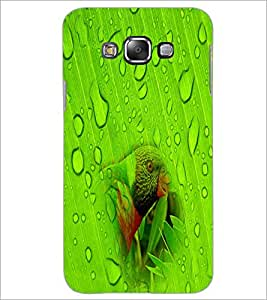 PrintDhaba Drops D-4451 Back Case Cover for SAMSUNG GALAXY A7 (Multi-Coloured)