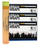 Urban Wraps Filter Printed Rolling Papers - 3 Packs with RPD Doobtube