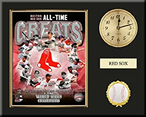 Boston Red Sox All Time Greats Team Composite Photo Inserted In A Gold Slide In Frame... by Art and More, Davenport, IA