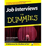 Job Interviews For Dummiesby Kennedy