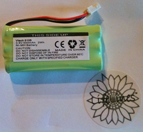 L.L. Cordless Phone Battery For Vtech 5105, 5145, Bt-5632, Bt-5872, 89-1333-01-00 & Others