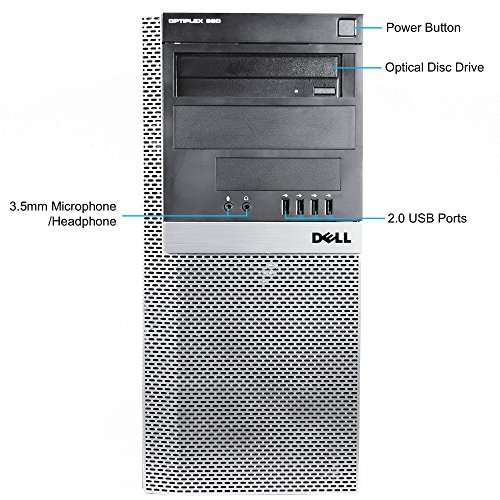 2016-Dell-Optiplex-980-Mini-Tower-High-Performance-Business-Desktop-Computer-Intel-Core-i5-up-to-346GHz-Processor-8GB-RAM-500GB-HDD-DVD-Windows-7-Professional-Certified-Refurbished