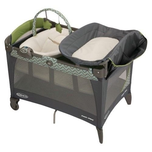 Graco Pack 'N Play Playard With Newborn Napper Station Lx - Monroe front-914946