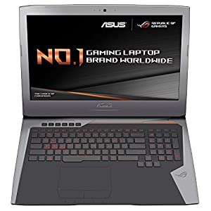 ASUS ROG G752VY-T7049T Notebook (i7-6820HQ, Blu-Ray DVD Combo, Touchpad, Windows 10 Home, 64-bit, 6th gen Intel Core i7)