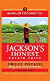 Jackson's Honest Sweet Potato Chips Made With Coconut Oil, 1.2 Ounce (Pack of 36)