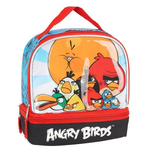 Angry Birds Lunch Kit (Blue and Red) - 1