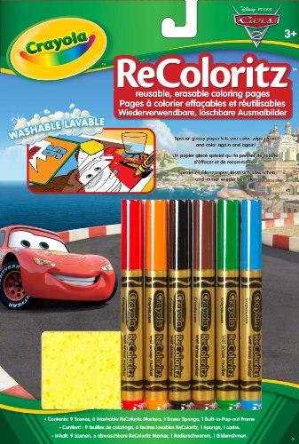Imagen principal de Vivid Imaginations Crayola ReColoritz Cars - Papel especial reutilizable para colorear
