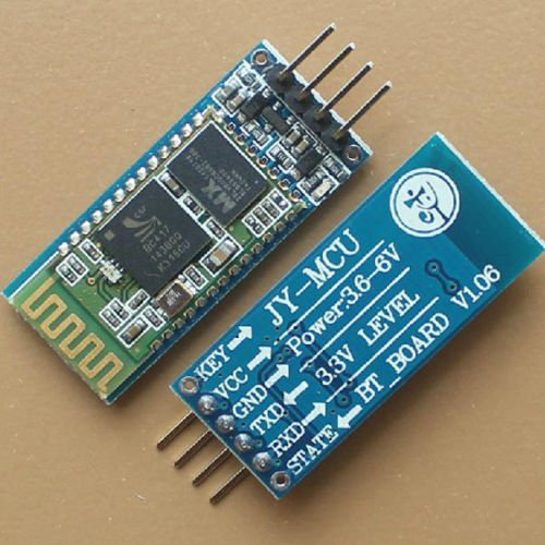 Huhushop(Tm) V1.06 Jy-Mcu Hc-06 Wireless Bluetooth Transeiver Rf Module Serial+4P Port Line