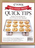 All Time Best - QUICK TIPS - COOK'S…