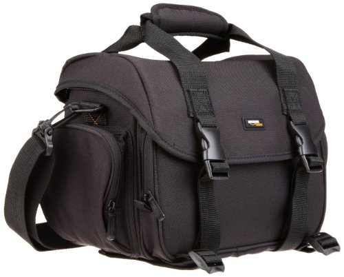 AmazonBasics Large DSLR Gadget Bag (Orange interior) image