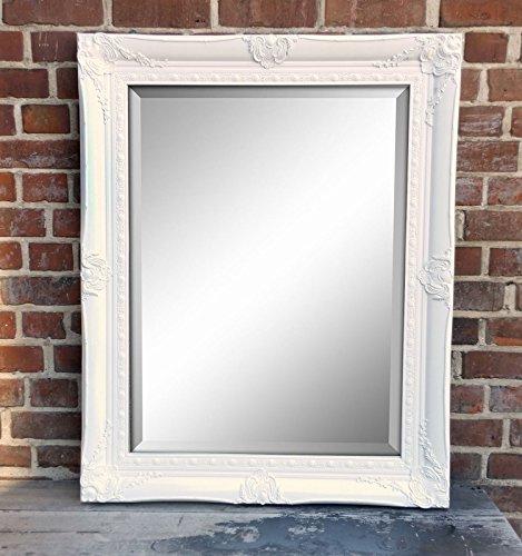 Specchio da parete con cornice in legno e sfaccettato tondo in legno cornice specchio oro - Specchio tondo da parete ...
