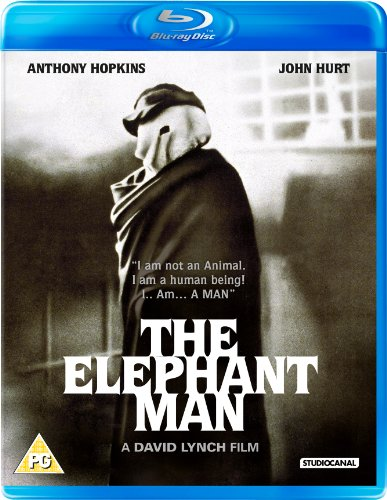 The Elephant Man Blu-ray Cover