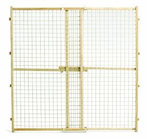 Midwest Wire Mesh Pet Gate, 29 Inches to 50 Inches wide x 44 Inches tall