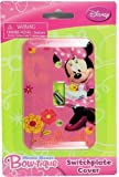 Disney Mickey Mouse Switch Plate Cover (Minnie Mouse) by Disney