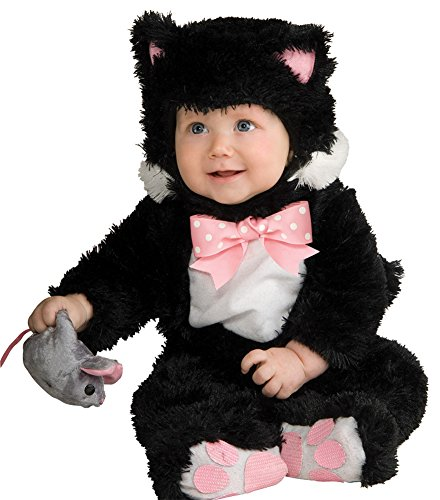 Unisex-Baby - Inky Black Kitty Toddler Costume 12-18 Mos Halloween