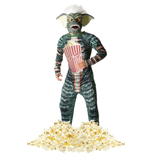 Extra Large Mens Official Gremlin Stripe Costume. Ideal for Halloween.