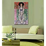 Tallenge Old Masters Collection - Mrs, Adele Bloch-Bauer By Gustav Klimt - Ready To Frame Premium Quality Rolled...