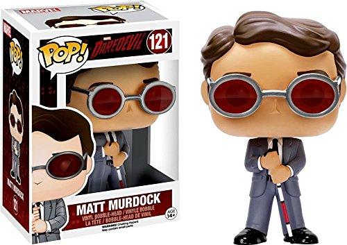 Funko POP Marvel 3 3/4 Inch Daredevil TV-Matt Murdock Action Figure Dolls Toys