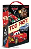 img - for Too Fast! (Disney/Pixar Cars 2) (Friendship Box) book / textbook / text book