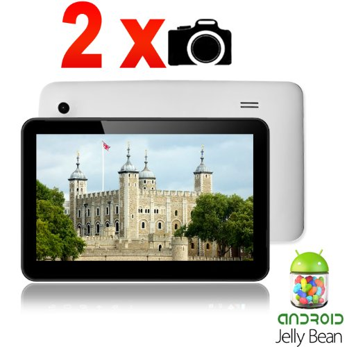 Maxtouuch Front/Back Dual Camera 9″ Android 4.2 Jelly Bean Tablet PC A13 Capacitive Multi Touch Screen 1.5Ghz DDR3 512MB RAM 8GB storage
