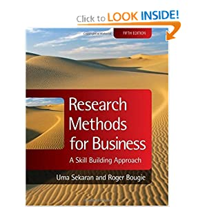 Research Methods for Business: A Skill Building Approach (Coursesmart)