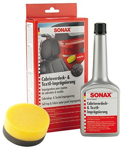 sonax 310100 cabrioverdeck textilimpr gnierung 250ml inkl applikatio 310 100 sonax. Black Bedroom Furniture Sets. Home Design Ideas