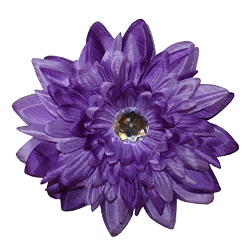 Webb Direct 2U Large Versatile 3 In 1 Two-Tone Daisy Flw Clip Purple(1163) front-1053383