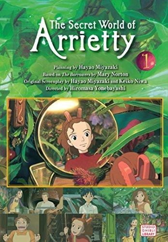 Arrietty Film Comic 01 (Arrietty Film Comics)