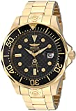 Invicta Men's Pro Diver Grand Diver 18k Gold Ion-Plated Watch INVICTA-10642