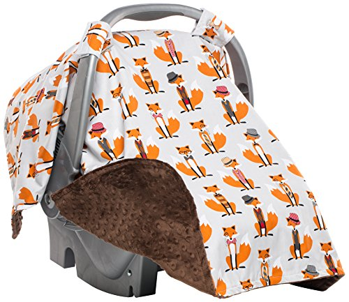 Elonka Nichole Infant Carseat Canopy, Boy - 1