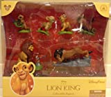 Disney Parks Lion King Figurine Playset Play Set Cake Topper NEW 2013