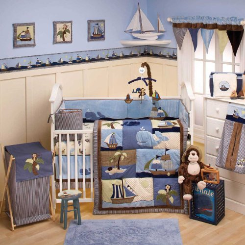 Sea Baby Bedding 177736 front