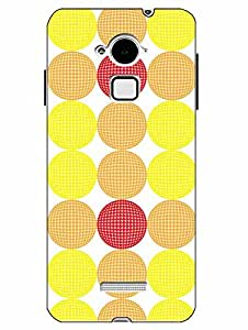 Case Cover Printed Multicolor Hard Back Cover For CoolPad Note 3