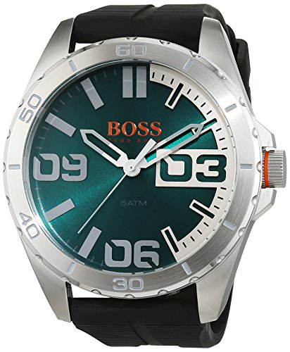 Boss Orange Men's Watch Analogue Quartz Silicone 1513381 Berlin
