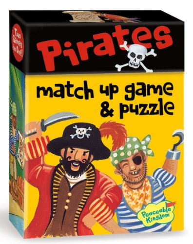 Peaceable Kingdom / Pirates 2-In-1 Match Up Memory Game & Floor Puzzle front-751994