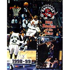 Vince Carter Autographed Hand Signed 16x20 Photo ROY 99 (Toronto Raptors) Rookie of... by Hall of Fame Memorabilia