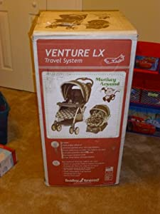 Baby Trend Venture LX Travel System Stroller - Monkey Around