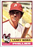 1976 Topps #145 Larry Bowa Philadelphia Phillies Baseball Card