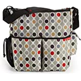 Skip Hop Duo Deluxe Diaper Bag, Wave Dot (Discontinued by Manufacturer)