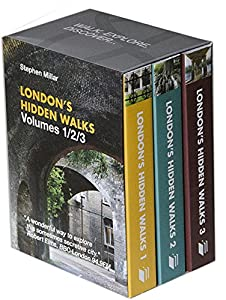 Stephen Millar's London's Hidden Walks: Volumes 1-3